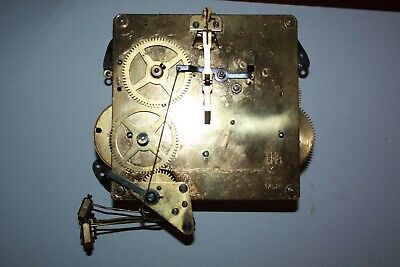 Vintage Hermle FHS 178/28..15 cm clock movement westminnster chimes 5 hammers
