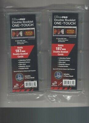 1 Ultra Pro One Touch DOUBLE BOOKLET 187mm Horizontal Magnetic Holder STAND Case