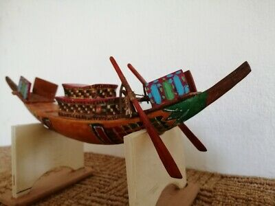 Tutankhamen's Tomb Model Boat (replica)