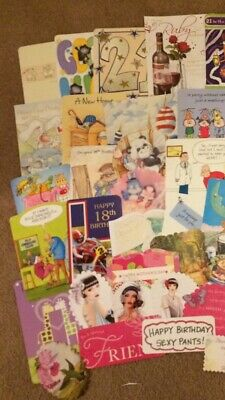 Lot 6z - Craft Clearout - 50 X Card Toppers Various Occasions & Sizes