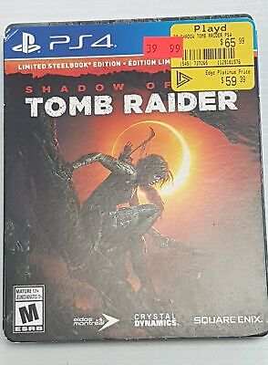 Shadow of the Tomb Raider - PlayStation 4 PS4 - Steelbook Edition - Used