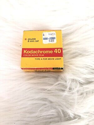 KODACHROME 40 COLOR MOVIE FILM EXPIRED New In Box