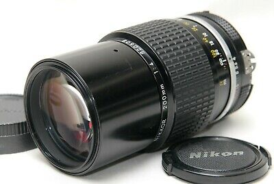 [Excellent] Nikon Ai Nikkor 200mm f/4 Telephoto Lens from JAPAN