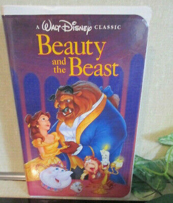 Beauty and the Beast #1325 Walt Disney Black Diamond Classic VHS 1992 TESTED nMt