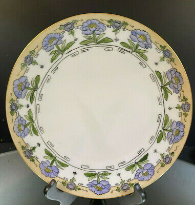 Arts & Crafts Hand-Painted Daisy Plate--Very Nicely Executed. Artist Signed--BIN