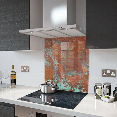 Glass Splashbacks Aged Copper and Accessories - Made By Premier Range