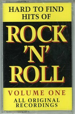 New Sealed Cassette Various  Hard To Find Rock & Roll Hits Volume 1 Curb Last 1!