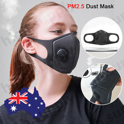 AU N95 PM2.5 Air Dust Mask Respirator Anti Pollution Face Masks Washable