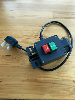 Wood Working saftery NVR On Off Switch - UK Plug