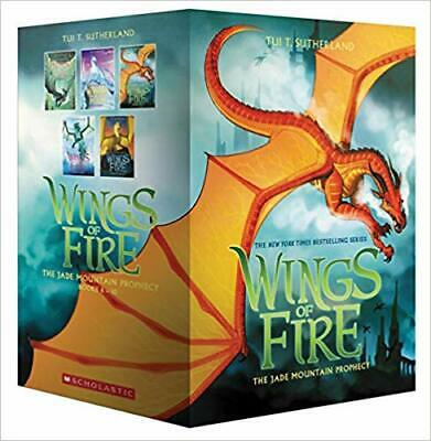Wings of Fire Box Set, the Jade Mountain Prophecy (Books 6-10) NEW