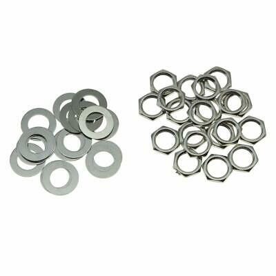 """Nut /& Washer Mounting Hardware Kit for ALPHA 5//16/"""" Push//Pull Pots PP-HDWR 5pc"""
