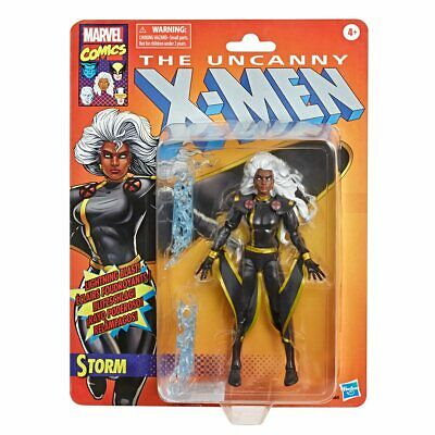 Marvel Legends X-Men Retro Storm Action Figure Black Outfit In Box In Stock!