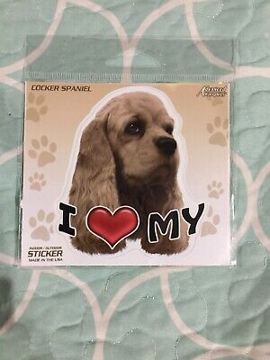 """/""""IT/'S A COCKER SPANIEL THING YOU JUST WOULDN/'T UNDERSTAND/"""" DOG 4/"""" STICKER"""