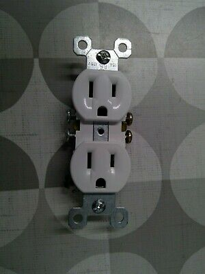 Pass & Seymour / Legrand 3232-W 15A 125V Grounded Receptacle **Free Shipping**