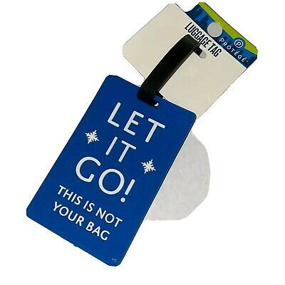 Protege Luggage Tag- Silicone- Waterproof- with Loop
