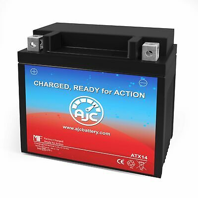 Power Source WP14-BS Powersports Replacement Battery