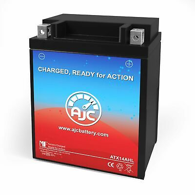 Interstate Battery CYTX14AHL-BS Powersports Replacement Battery