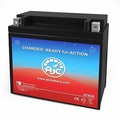 Power Sonic PTX20-BS Powersports Replacement Battery