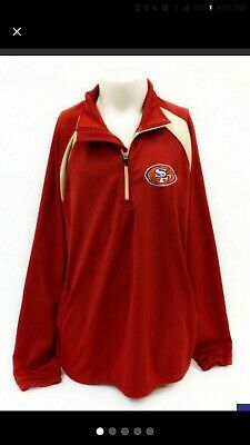 SAN FRANCISCO 49ERS Red long sleeve Shirt RED Logo Unisex Adult S-2XL