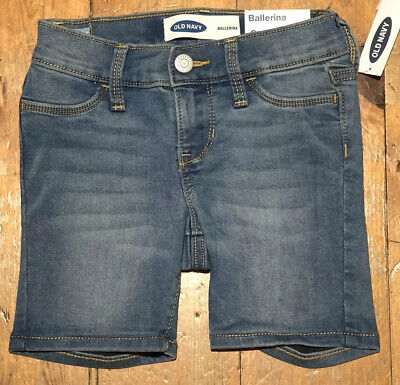 NWT Old Navy Girls  Ballerina Denim Jeans Shorts  MSRP $24.99   you pick size