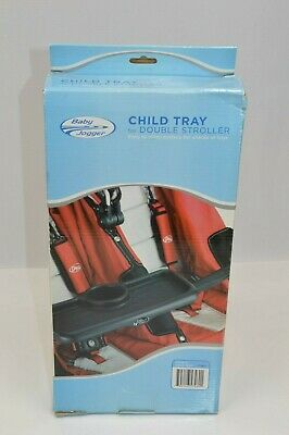 Brand NEW Baby Jogger Double Stroller Child Tray Cup Holder Snack Tray