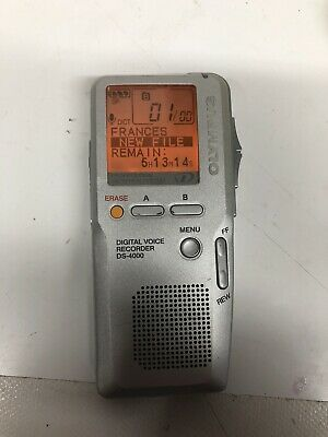 Olympus DS4000  Digital Voice Recorder, 32MB XD Card And Batteries Included
