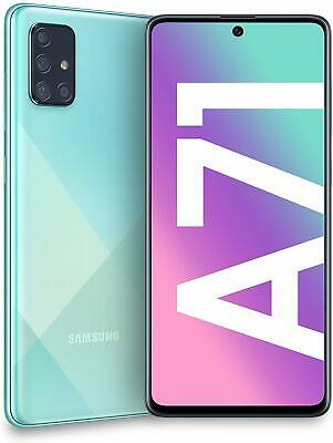 "Samsung Smartphone Galaxy A71 Display 6.7"" Super AMOLED 128GB 6GB BLU DUAL SIM"