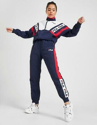 New Fila Women's Tape Colour Block Woven Track Pants