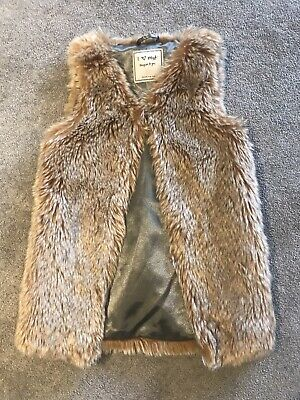 Girls Fur Gillet From Next Age 3 Years
