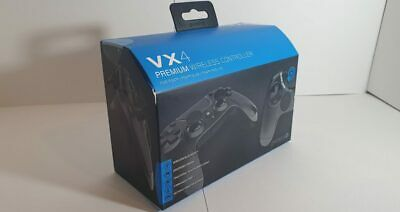 Playstation 4 & Pc Gioteck Vx4 Premium Wireless Controller Game Pad Ps4 Black