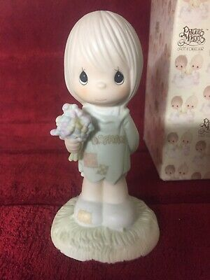 Precious Moments Figurine 520853 ln box I Belong To The Lord