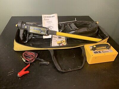 Pipehorn 800HL 800 Series Dual Frequency Pipe & Cable Locator W/ Case