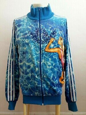 Adidas Calendar Girls Rare Retro Vintage Track Jacket S / July 83