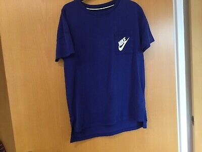 Nike Boys / Girls Tee Shirt Age About 11/12 Royal Blue Suze S P Childrens