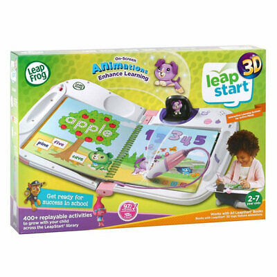 LEAPFROG LeapStart 3D Pink Interactive Learning System 603953
