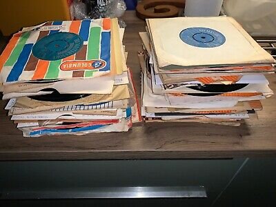 "7 - job lot 100 x 1950s 7 "" vinyl single records - all listed"