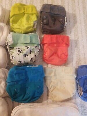 Lot Grovia baby cloth diapers shells inserts boosters soakers Laundry Bags