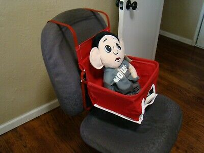 Red vintage style car seat auto child seat antique style baby seat gm accessory