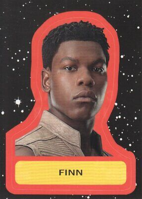 2019 Star Wars Journey to The Rise of Skywalker Character Stickers #CS-2 Finn
