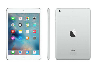"Apple Ipad Mini 1St Gen A1432 7.9"" White/Silver 16Gb Wifi Ios Tablet Md531Ll/A"