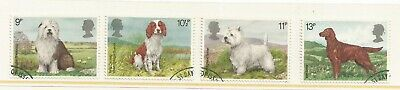 GREAT BRITAIN 1979 Dogs Fine Used Set SG 1075/1078