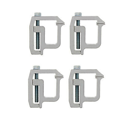 ABN Truck Topper Clamps - 4 Pack Truck Canopy and Truck Cap Mounting Clamps