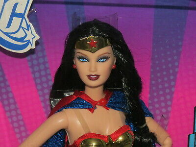 Barbie Wonder Woman Pink Label NRFB DC Comics 2008 Barbie Doll