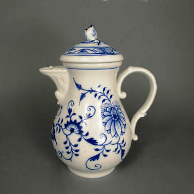 Coffee Pot Meissen Porcelain Onion Pattern