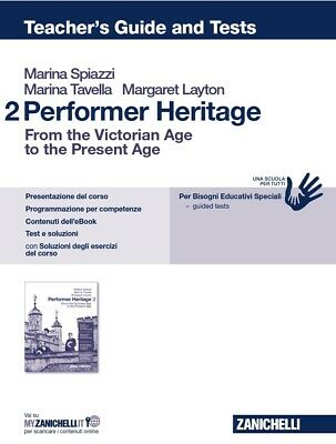 OFFERTA Performer Heritage 2 (Teacher's Book, Soluzioni E Test) Solo PDF