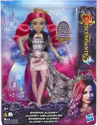 New Disney Descendants 3 Audrey Queen Of Mean Singing Doll Toy ***FREE SHIP***
