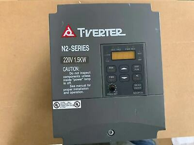 1PC Used N2-202-M Taian N2-SERIES Inverter 1.5KW 220V