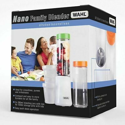 Wahl ZX881 Family Nano Blender Smoothie Shake Maker 120W  White