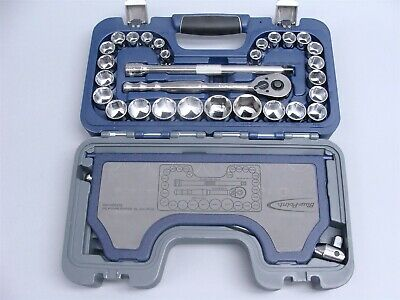 """Blue-Point as Sold By Snap on 33pc 1//2/""""  General Service SAE /& Metric Socket Set"""
