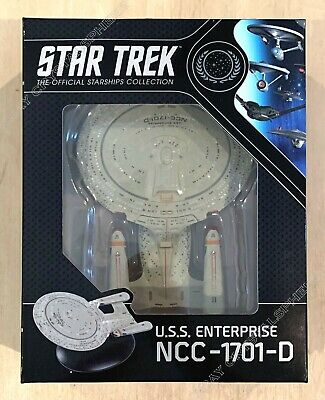 Star Trek USS Enterprise NCC-1701-D Ship - Best Of Eaglemoss Official Starships